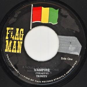 Le 45T d'origine sorti sur le label Flag Man.